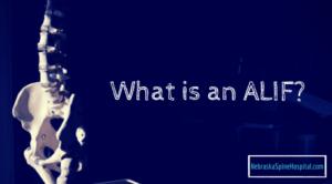ALIF anterior lumbar interbodyfusion