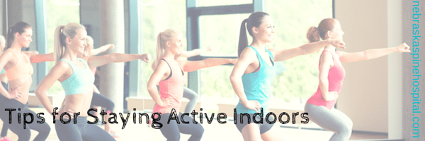 Tips to Stay Active Indoors